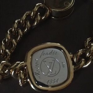 Louis Vuitton ID Chain Bracelet